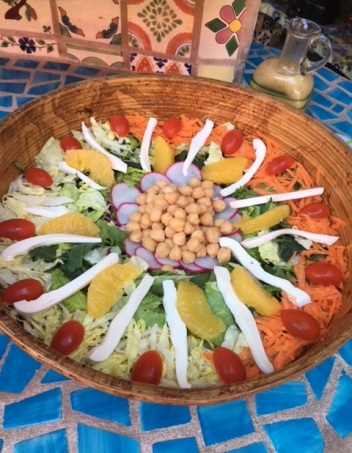 A beautiful salad everyday!